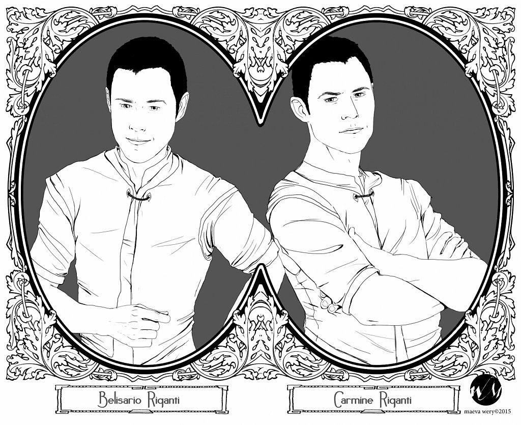 Les jumeaux Riganti - Chiroscuro