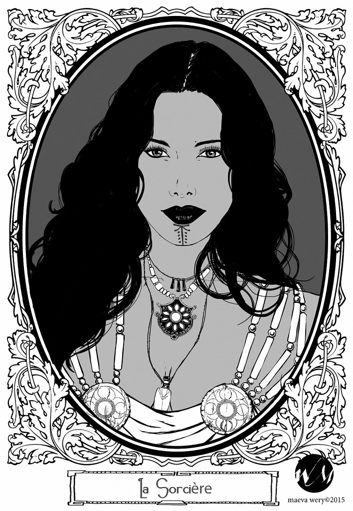 La sorcière - Chiaroscuro