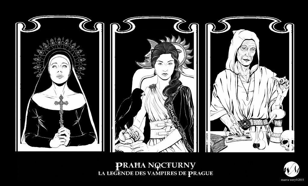 Praha Nocturny - Jeu de rôle vampirique