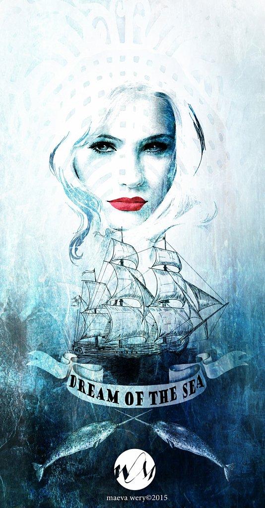 Dream of the Sea - Print t-shirt